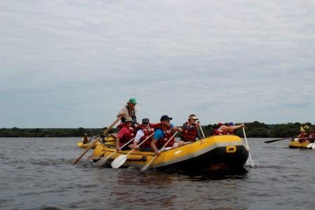 River Rafting on the Zambezi River