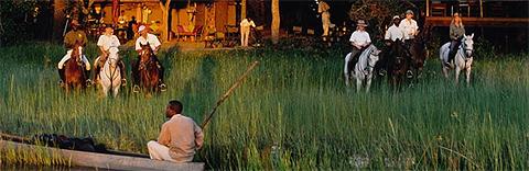 Okavango Horseback Safaris, Botswana
