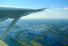 Floods in the Okavango
