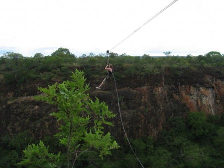 Zip Line, Zambia