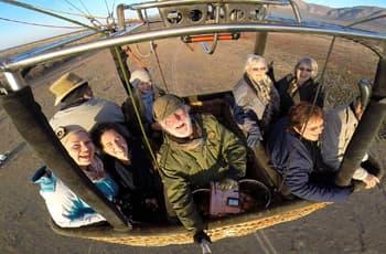Bill Harrops Ballooning, near Johannesburg