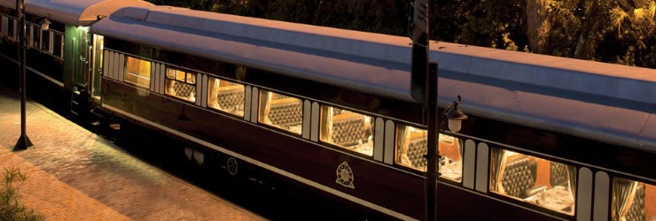 Rovos Rail is one of the 3 top luxury trains in South Africa