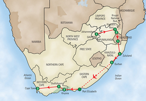 14 Day Tour of South Africa