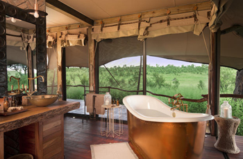 Somalisa Camp is a luxury tented camp in Hwange National Park