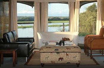 View from Taranga Safari Lodge, Namibia