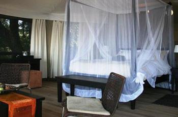 Room interior, Taranga Safari Lodge