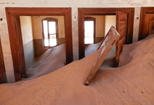 Namibia, Tour of Ghost Town