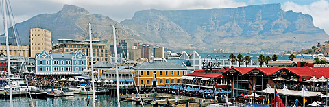 V&A Waterfront near Cape Town Hollow Hotel