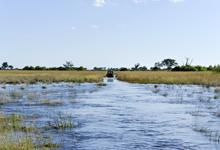 Floods in Okavango Delta, Botswana