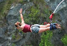 Bungee Jumping near Tsala Treetops, Garden Route