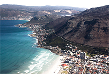 Cape Town beach near Victoria & Alfred Hotel